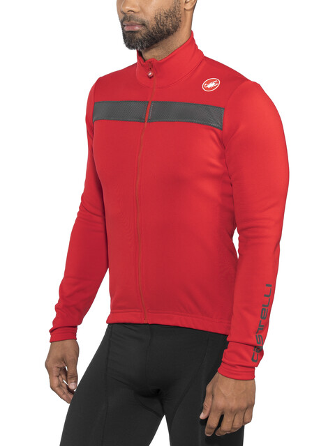 Castelli Puro 3 Full Zip Jersey Men red